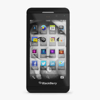 3d blackberry z10