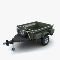 trailer vehicles 3d model