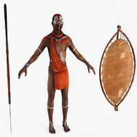 max african indigene rigged