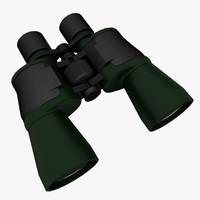 binocular v-ray 3d max