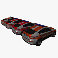 BMW X6 Ambulance