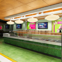 3d 16 handles yogurt bar