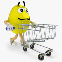 Character M&M'S & Shopping Trolley