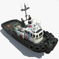 max modern tug boat