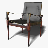 max authentic campaign chair