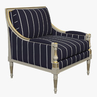 3d photorealistic cannes marquise chair model