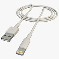 Apple Lightning Cable USB Connector