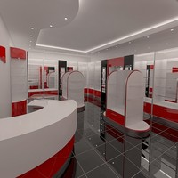 3d model v-ray shop