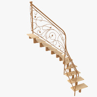Wrought Iron Stair Railing 6