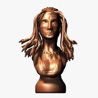 3d model of medusa bust