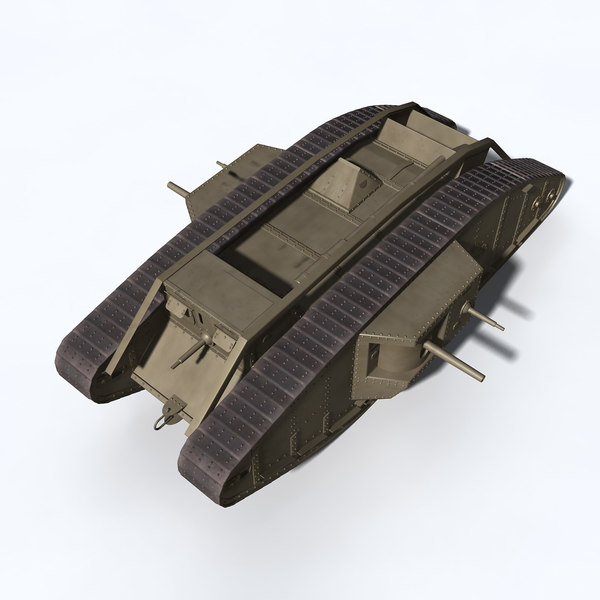 mark iv british tank fbx - Mark IV