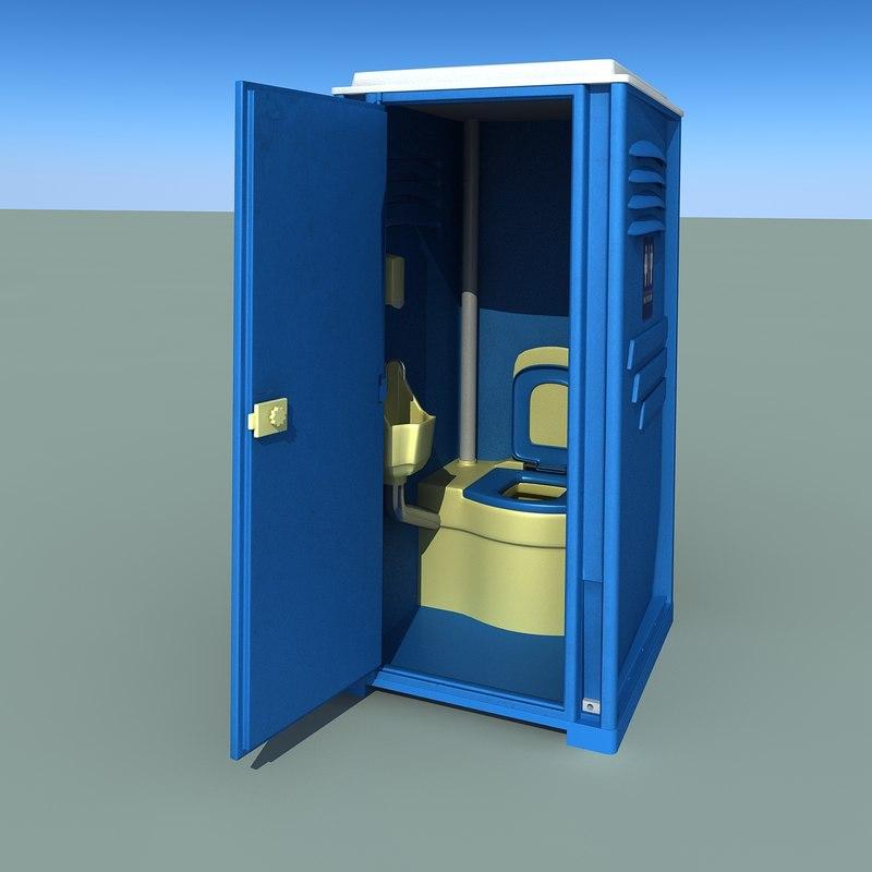 Realistic toilet 3d model - Toilet model ...