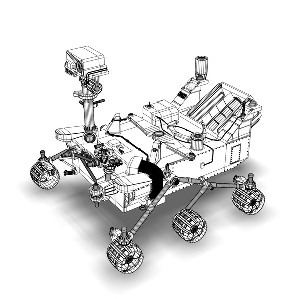 The How Big Is Mars Rover Curiosity Dimensions Page 2