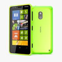 3d nokia lumia 620