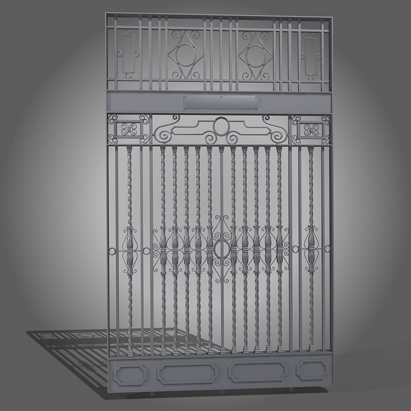 3d wall fence - Classic Wall Fence... by shank3d