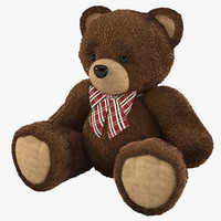 maya bear toy fur