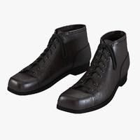men s boots 3d model