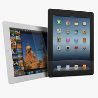 3d apple ipad 4g 3rd model
