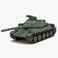 AMX-32 France Main Battle Tank 2