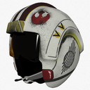star wars flight helmet 3D models