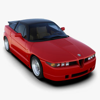 alfa romeo sz 3d model
