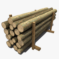 3d model lumber modeled games