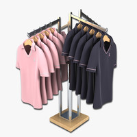 Womens Golf Polo Shirt Display