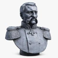 Admiral Sokovnin Bust