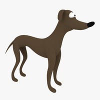 3ds max dog cartoon