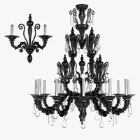Barovier Toso Taif Lamps Set