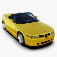 alfa romeo rz 3d model