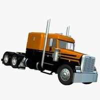 3d freightliner fld120sd midroof