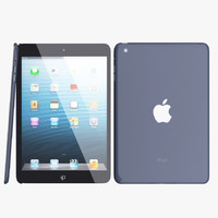 3d model ipad mini apple