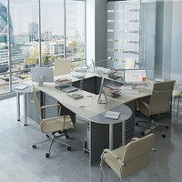 3d architecture office furniture model
