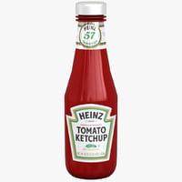 Ketchup Bottle Heinz