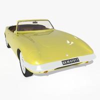 3d max classic car