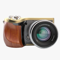 3d model photoreal camera hasselblad lunar