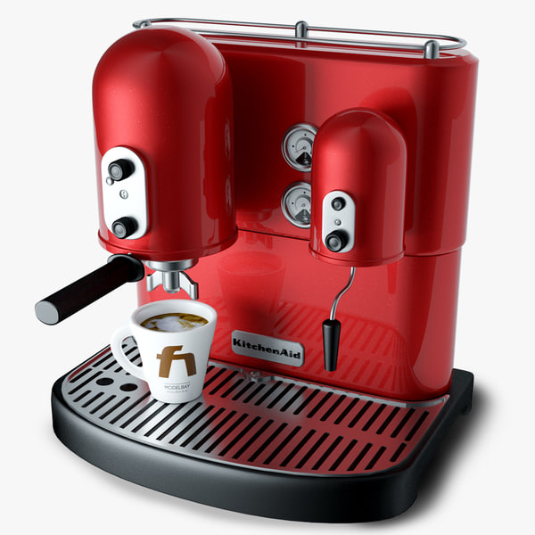 Kitchenaid Coffee Maker Operating Manual : kitchen aid coffee machine 3d model
