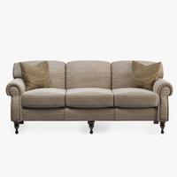 3d model century weber sofa