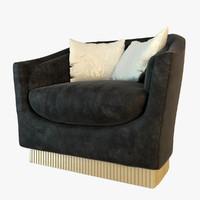 3d visionnaire quirinio armchair