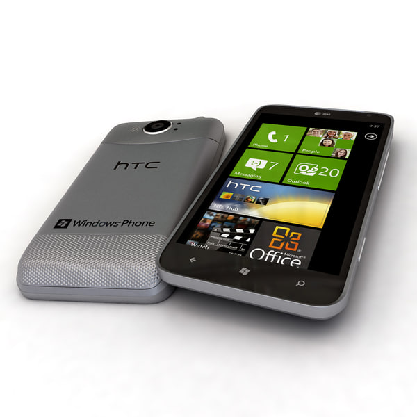 new htc titan ii 3d model - new HTC Titan II HTC Titan 2... by Leeift