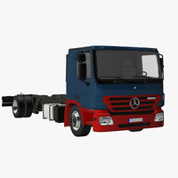 actros flat roof obj