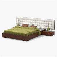 max bed cherry wood