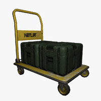 trolley boxes 3d max