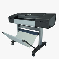 Printer HP DesignJet Z2100 24