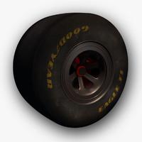 Vintage F1 Wheel