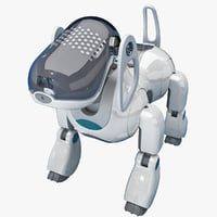 Sony AIBO Dog Robot Rigged