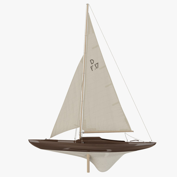 sailboat yacht decoration 3d 3ds - Sailboat Yacht Decoration... by Constantin Os