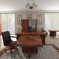 3d model of office