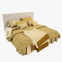 3d model bedcloth 10